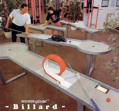 Miniaturgolf-Billard